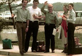 Javier Bargallo, Fernando Sosa, Martín y Nene Lizaso y Ana Braceras de Sackmann