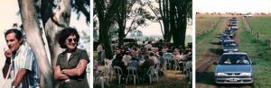 1997. Remate inauguración de Casamú en Atucha