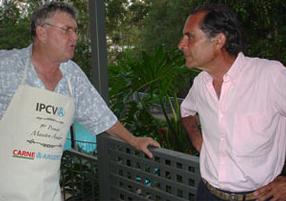En la casa de Don Nicol, en Australia (Brisbane 2005)
