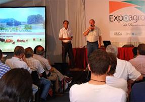 En Expoagro 2010 junto al Lic. Agustín Arroyo